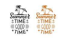 Hello, Summer Artwork – Summer Day Vector Art Design For Girls T-shirt In Custom Summer Day Design.