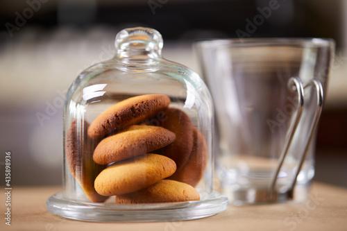 Fotografija butter cookies in the jar