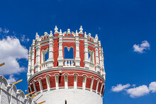 Corner St. Nicholas Tower Of The Novodevichy Convent