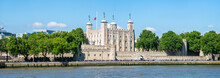 Tower Of London Panorama In Summer
