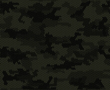 Green Military Camouflage, Digital Texture, Trendy Seamless Pattern. Ornament. EPS