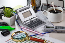 Office Accessories For Business Management.