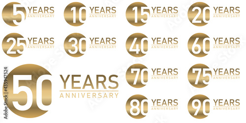 Fotografie, Obraz year seal anniversary or jubilee