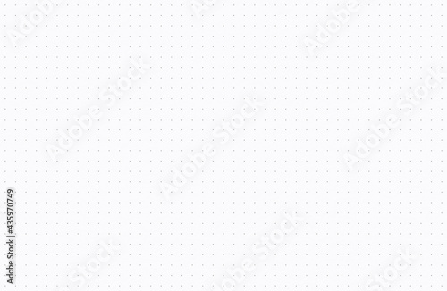 Dotted grid paper background texture, seamless repeat pattern