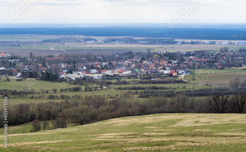 Fotografie, Obraz Slovakia village Kuchyna at day