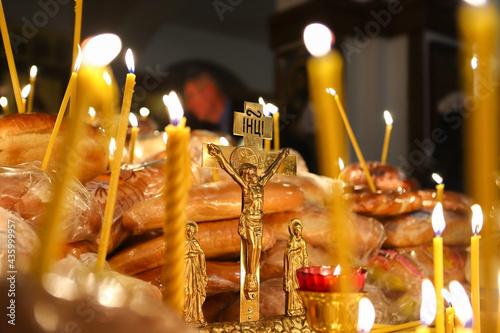Stampa su Tela Funeral service in the Orthodox Church