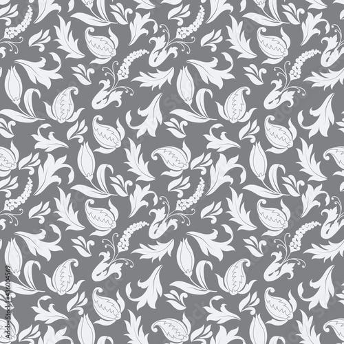 Tapety Klasyczne  kwiatowy-ozdobny-wektor-wzor-bez-szwu