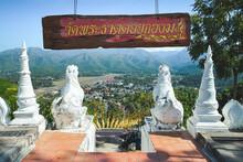 Wat Phrathat Doi Kong Mu In Mae Hong Son.