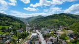 Szczyrk - Krajobraz - miasto szczyrk - centrum - lato - wyjazd na weekend