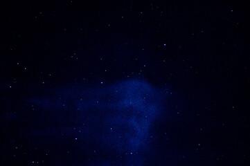 Upiorne chmury nocą