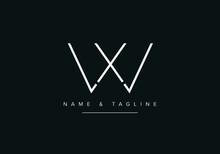 Abstract Alphabet Letter Logo Icon WX