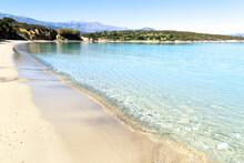 Beautiful Idyllic Turquoise Waters Beach, Crete Greece.
