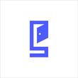 letter S real estate logo