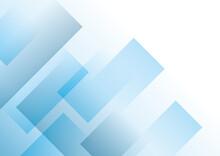 幾何学的な抽象背景 青