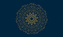 Mandala Background With Ornamental Pattern And Decorative For Wedding Card Mandala Design
