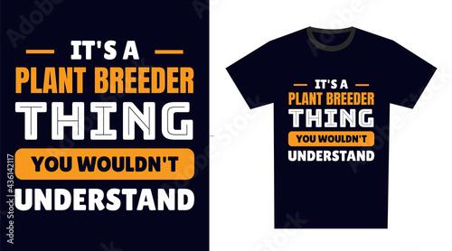 Fotografija plant breeder T Shirt Design