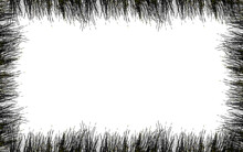 Cadre Silhouette D'herbes