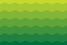 Green Gradient Background. Organic Shape. Abstract Background. Vector Geometric Elements For Background Cover Templates, Patterns. Green Wave Background. Green Wallpaper.