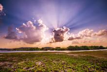 A Splendid Sunset At Arugam Bay, Sri Lanka