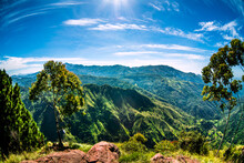View From The Top Of Ella Rock, Sri Lanka