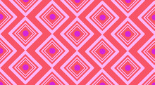 Seamless Pattern With Pink Stripes