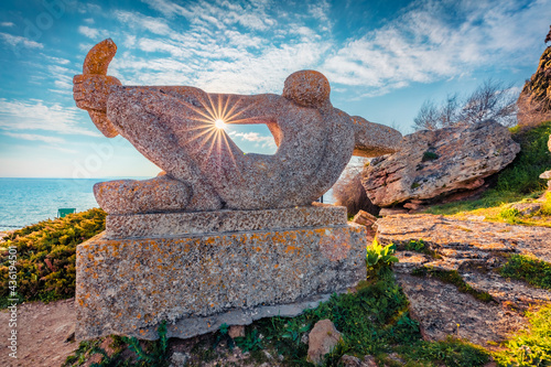 Photo Monument to the defenders of the Cape and Kaliakra Fortress