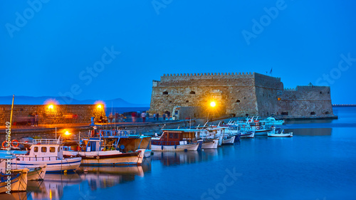 Foto Heraklion in Crete Island,