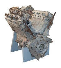 Engine Soviet Aircraft Shot Down By The Nazis In 1941