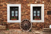 Castrillo De Los Polvazares Village In Leon, North-west Of Spain. One Of Maragateria Camino De Santiago