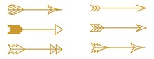 Calligraphic Vintage Arrow Collection