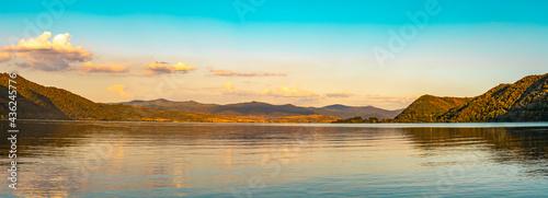 Fotografie, Obraz Danube gorge in Djerdap on the Serbian-Romanian border