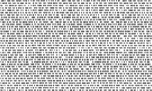 Gradient Abstract Background Of Zeros And Ones, Pixel Value, Program Code Texture, Binary Number System Design, Vector Illustration