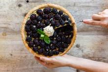 Blackberry Lemon Tart