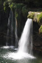 Waterfall In The Countryside Of Burgos