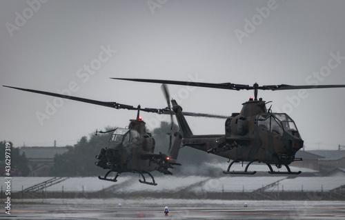 Fotomural 攻撃ヘリコプター