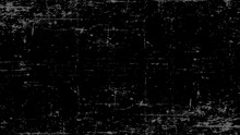 Old Film Effect. Battered Black Screen. Scratched Background. Vector Illustration