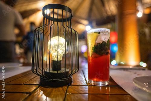 Papel de parede coctel mixologia bebidas