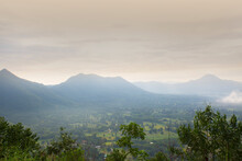 View Point Of The Sea Of mist At Phu Thok, Loei Province, Northeast Of Thailand.