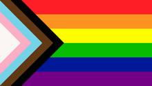 New LGBTQ  Pride Flag