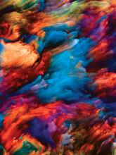 Illusion Of Paint Flow