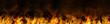 Leinwandbild Motiv beautiful abstract backgrounds with flames and smoke.