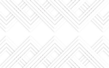 Abstract White Background With Various Geometric Lines