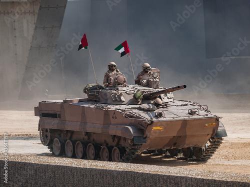 Abu Dhabi, UAE - Feb Fototapet