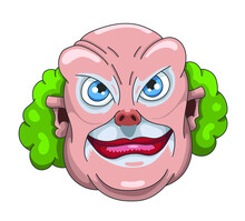 Clown Méchant