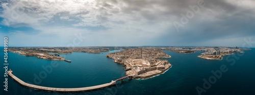 Foto Valletta, Capital of Malta from the air