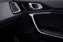 Details Of Modern Automobile Interior Closeup