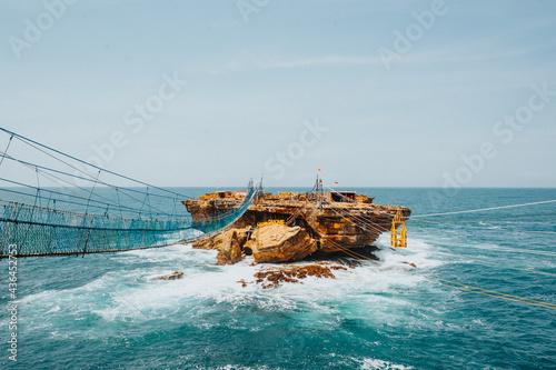 Obraz na plátně Timang Beach Extreme Ride