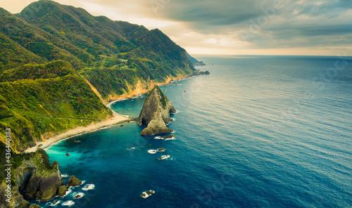 Photo Rocky Steep Coastline