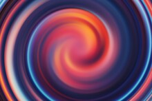 Abstract Red And Blue With Circle
