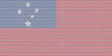 3D Flag Of Samoa On Metal